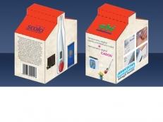 Design ambalaj cutie termometre